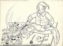 Politische Karikatur