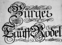 Bernburger Kirchenbücher und Genealogien